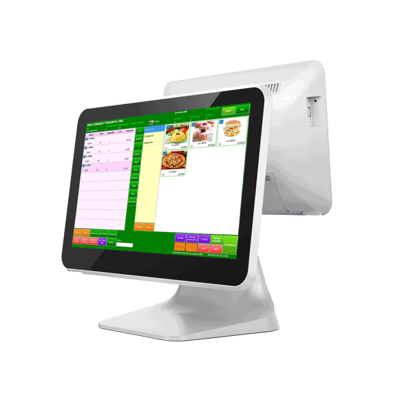 15.6+13.3 inch Dual Display Android Cash Register POS System P1503