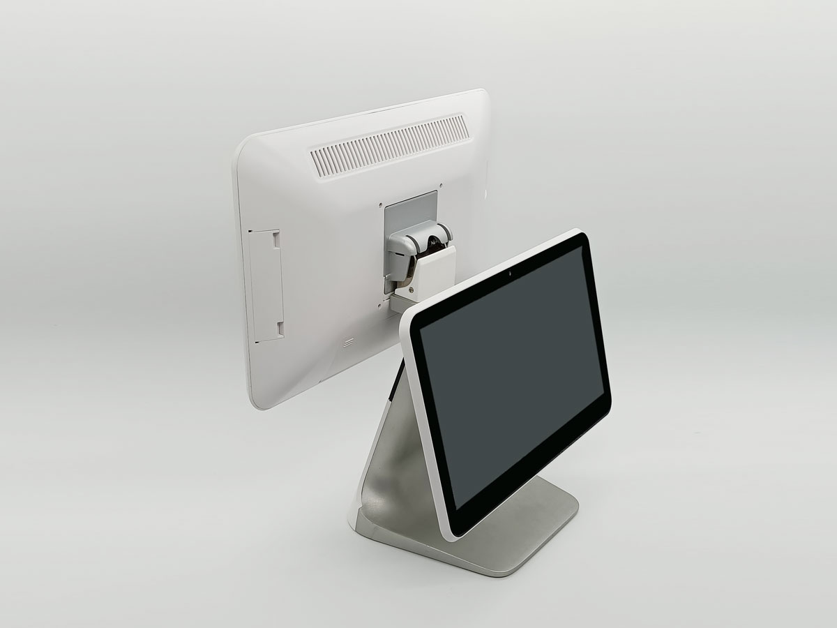 Double 15.6 inch touchscreen Android POS system